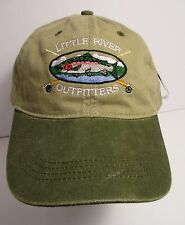 Little River Outfitters Tennessee Hat Cap Fly Fishing USA Embroidery Prefade New