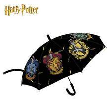 Harry Potter Ombrello Automatica Nero & Multicolore 80 cm Nuovo