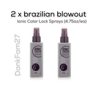 2 x Brazilian Blowout b3 Bond Builder Ionic Color Lock, 4.75 oz- Free Shipping