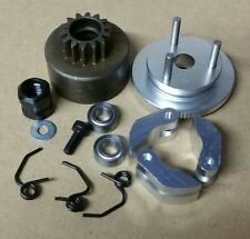 1/8 RC Nitro Clutch Flywheel Kit 3 Shoe Silver