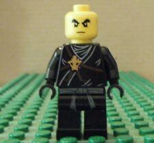 LEGO MINIFIGURE–NINJAGO, COLE, GOLDEN WEAPONS - GENTLY USED