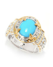 Gems En Vogue Solitaire Oval Ring Sleeping Beauty Turquoise Size 8 Sold Out