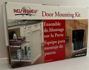 NEW Rev-A-Shelf Door Mounting Kit #RV-DM17KIT-5  -Works with any door style!