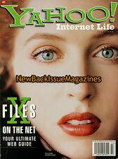Yahoo! Internet Life 7/98,Gillian Anderson,July 1998,NEW