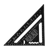 Construction Speed Square Rafter Miter Triangle Angle Square Ruler Protractor