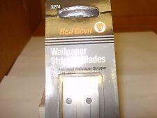 RED DEVIL 3274 WALLPAPER STRIPPER BLADES FOR 3241 & 3242 (10) cards of (2) each