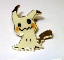 Nintendo Pokemon Center MimiKyu Ghost Pikachu Gold Sun Moon Tournament Pin