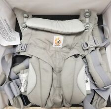 ERGOBABY OMNI COTTON 360 Ergo baby carrier. Pearl Grey. NEW UNUSED W/O BOX