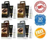 REVERS Henna Pro Colors Cream Professional Tint Colour For Eyebrows BIO Formula