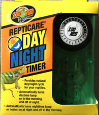 New listing Zoo Med Repticare Day Night Timer for Reptiles / Terrariums, New