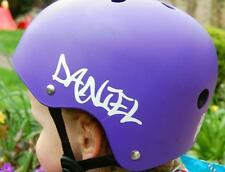 personalized name laptop bike scooter helmet sticker colours VW jdm DUB