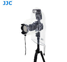 """JJC Ri-sf 2x Camera Rain Cover Protector for DSLR With Lens up to 9.8"""" and Flash"""