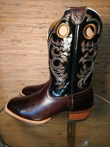 Ariat Crossfire Western Cowboy Boots Brown Square Toe style 10006734 Men's 11 EE