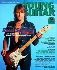 RICHIE SAMBORA BON JOVI FENDER STRATOCASTER YOUNG GUITAR SEPT 2000 JAPAN IMPORT
