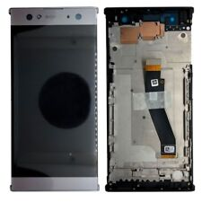 Sony écran LCD complet avec cadre pour Xperia XA2 ultras argent échange