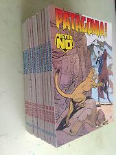 lotto 13 fumetti dello stesso numero mister no N° 215 patagonia!