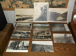 VINTAGE PHOTOS AND POSTCARDS MT WASHINGTON, FRANCONIA AND SOUTHERN VALLEY