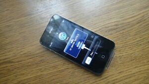 Apple iPhone 4 16GB Black iOS 4.3.5 (Unlocked) A1332 (GSM) Rare Collectors Item