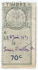 (I.B) Haiti Revenue : Duty Stamp 70c