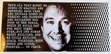 Bill Hicks Vinyle Autocollant Explorer l'espace de paix LSD Décalque Citation Terence McKenna NY