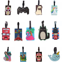 Luggage Tag Suitcase Bag Holiday Travel Identify Gift Vacation Novelty Airport