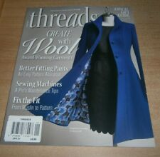 Threads Magazine May 2020 First Steps to Fit Your Curvy Shape Sewing Rayon