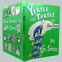 Dr Seuss YERTLE THE TURTLE AND OTHER STORIES  1st Edition 1st Printing