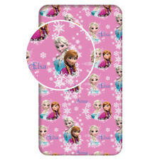 Disney FROZEN Anna Elsa sisters SINGLE FITTED BED SHEET 90x200cm 100% COTTON  01