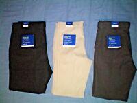 NWT NEW mens APT 9 stretch premier flex slim fit flat front cooling dress pants