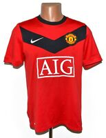 MANCHESTER UNITED 2009/2010 HOME FOOTBALL SHIRT JERSEY NIKE SIZE S ADULT