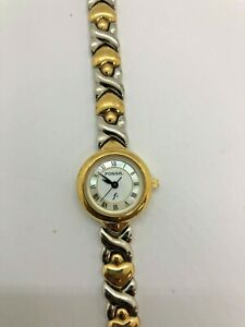 Fossil F2 ES-8730 Two Tone Wrist Watch for Women