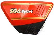 Benelli 504 Sport - Seitendeckel mit Emblem links