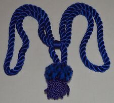 """Curtain/Chair Tie-Back-24""""spread w/ 4""""lion mane tassel- 6 colors to choose from!"""