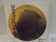"""FABRIZIO DE ANDRE' """"TUTTI MORIMMO A STENTO"""" VINILE LP 1971"""