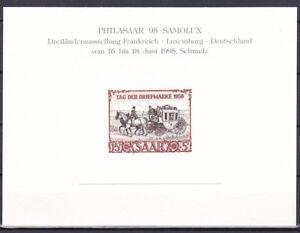 1950 Mi. Nr. 291 Neudruckblock vom Originaldruckstock Philasaar - LESEN !!!!!