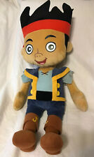 "Disney Jake And The Neverland Pirates Large Plush Stuffed Toy Doll 30""  Gift"
