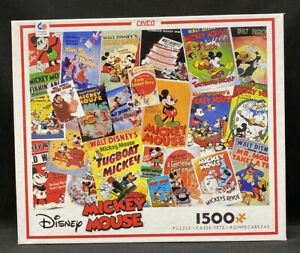 Ceaco Disney Mickey Mouse Vintage Comic Cover 1,500 Piece Puzzle - SEALED - NEW