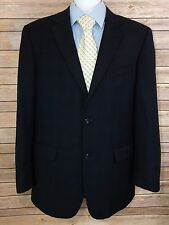 Donald J. Trump Men's Wool Blue Plaid Two Piece Suit Size 42 L