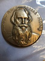 "Bronze 3"" Samuel Finley Breese Morse Medallic Art Hall of Fame Great Americans"