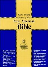 ST JOSEPH EDITION OF THE NEW AMERICAN BIBLE/ RED IMITATION LEATHER/ NO. 609/10R