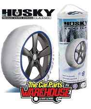 Husky Sumex Winter Textile Car Wheel Safety Ice RED /& WHITE Frost /& Snow Chain Socks for 16 Tyres 215//75 R16