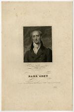 Antique Print-PORTRAIT-EARL GREY-Anonymous-ca. 1830