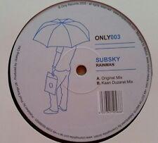"""Subsky  """"Rainman"""" * ONLY003 / Original + Kaan Duzarat Mixes"""