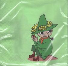 Moomin SERVILLETAS 33cm Snufkin Verde