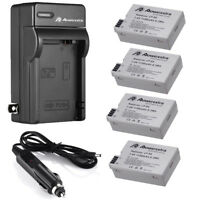 LP-E8 Battery Pack + Charger for Canon Rebel T2i T3i T4i T5i Kiss X5 EOS 550D