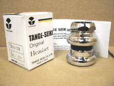 """New Tange Levin CDS Threaded Headset...1"""" JIS Specifications w/ Chrome Finish"""
