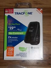 Brand New Sealed LG 440G - Black Tracfone Cellular Phone