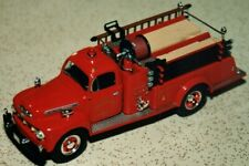 FIRST GEAR COLLECTIBLE, 1951 FORD F-7 PUMPER - 18-2192  FAYETTE FIRE CO.
