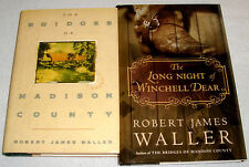 The Bridges of Madison County & Long Night Winchell Dear~by Robert James Waller