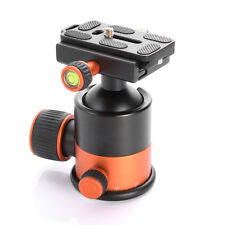 360°Rotating Metal Pro Tripod Ball Head Ballhead+Quick Release Plate DSLR Camera